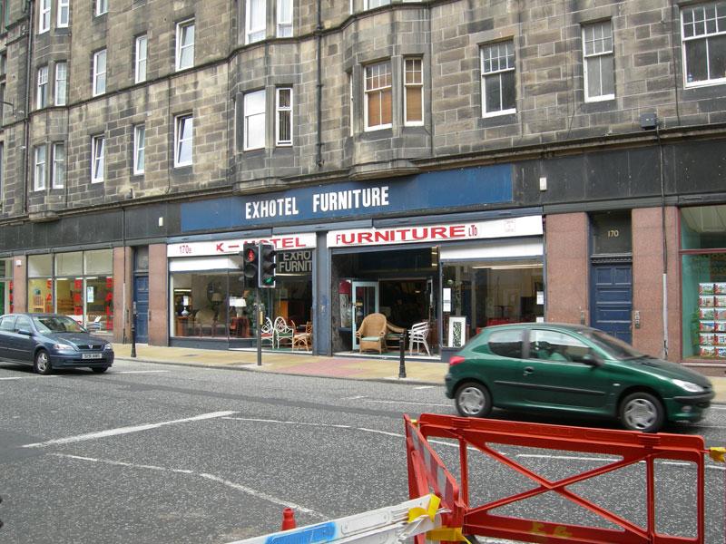 Ex Hotel Furniture in Leith, Edinburgh