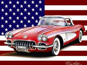1960 Corvette - Jimbo's baby