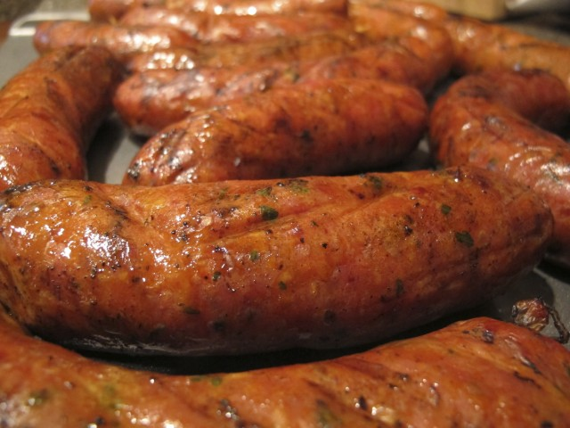 Enjoy the beautiful sausage!