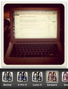 Instagram even makes Blogging look cool
