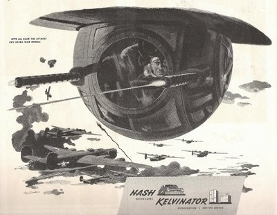 Interesting perspective B24 ball turret xpost from r