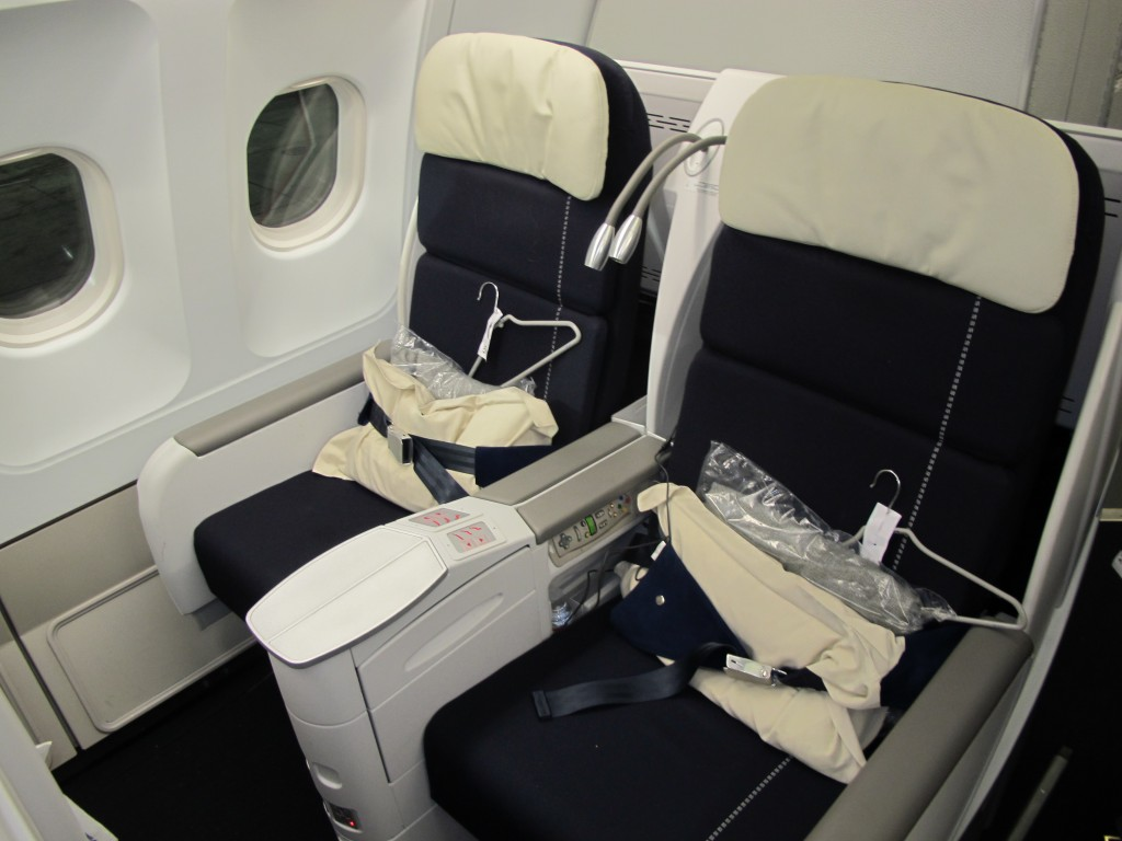 Business Class Seats on Air France