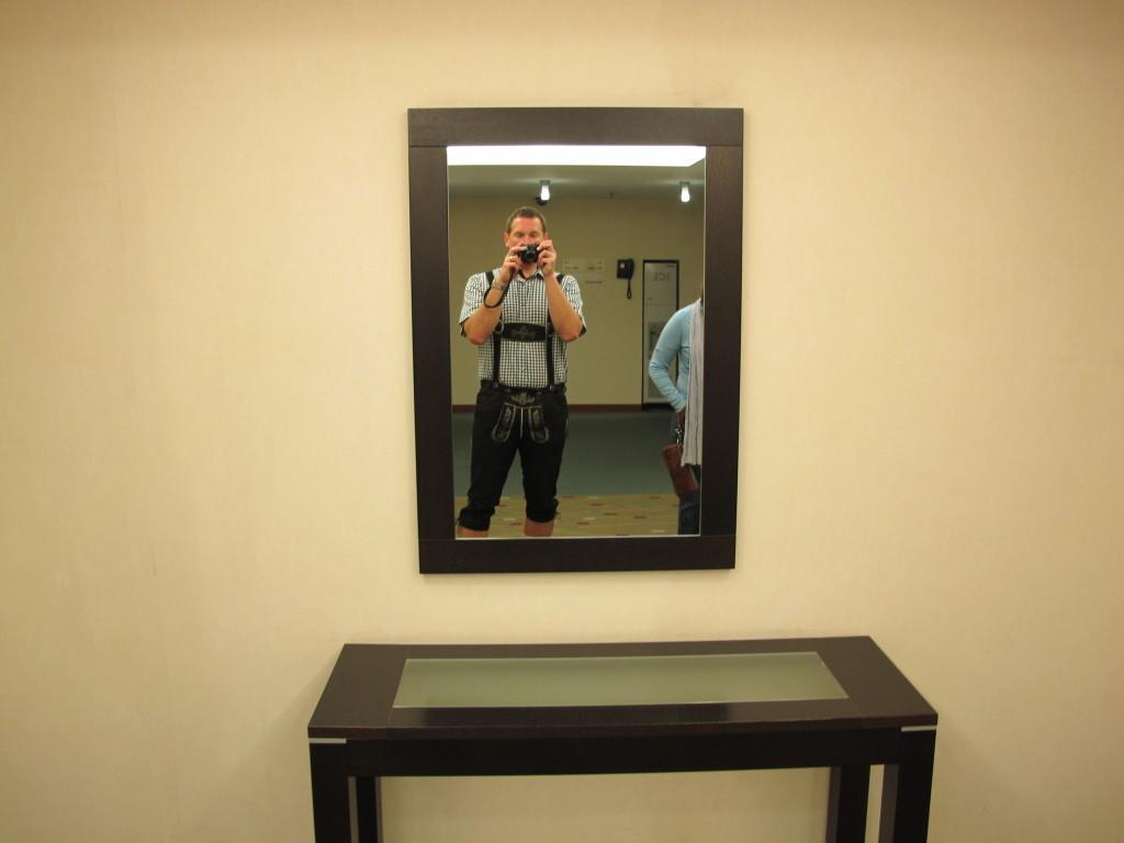 Self Portrait in Hosen