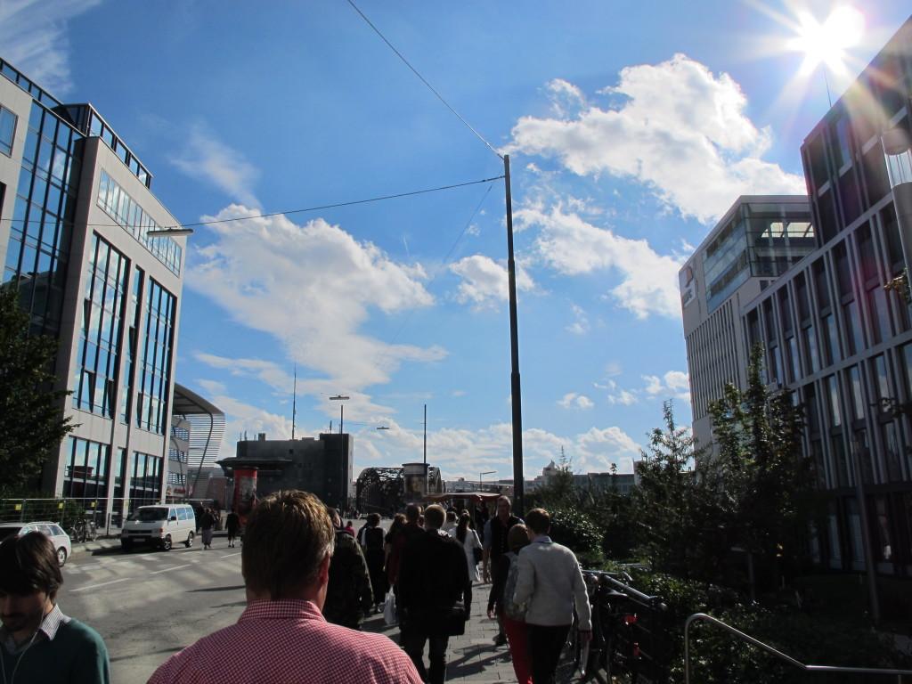 Walking to Oktoberfest