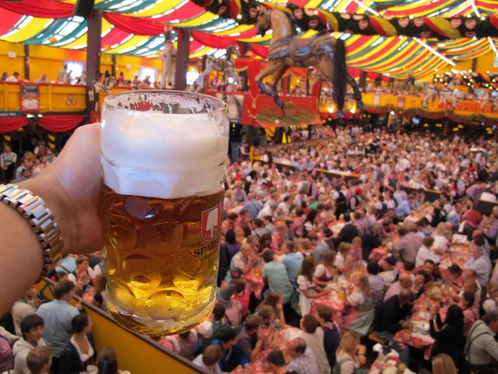 I toast to you!