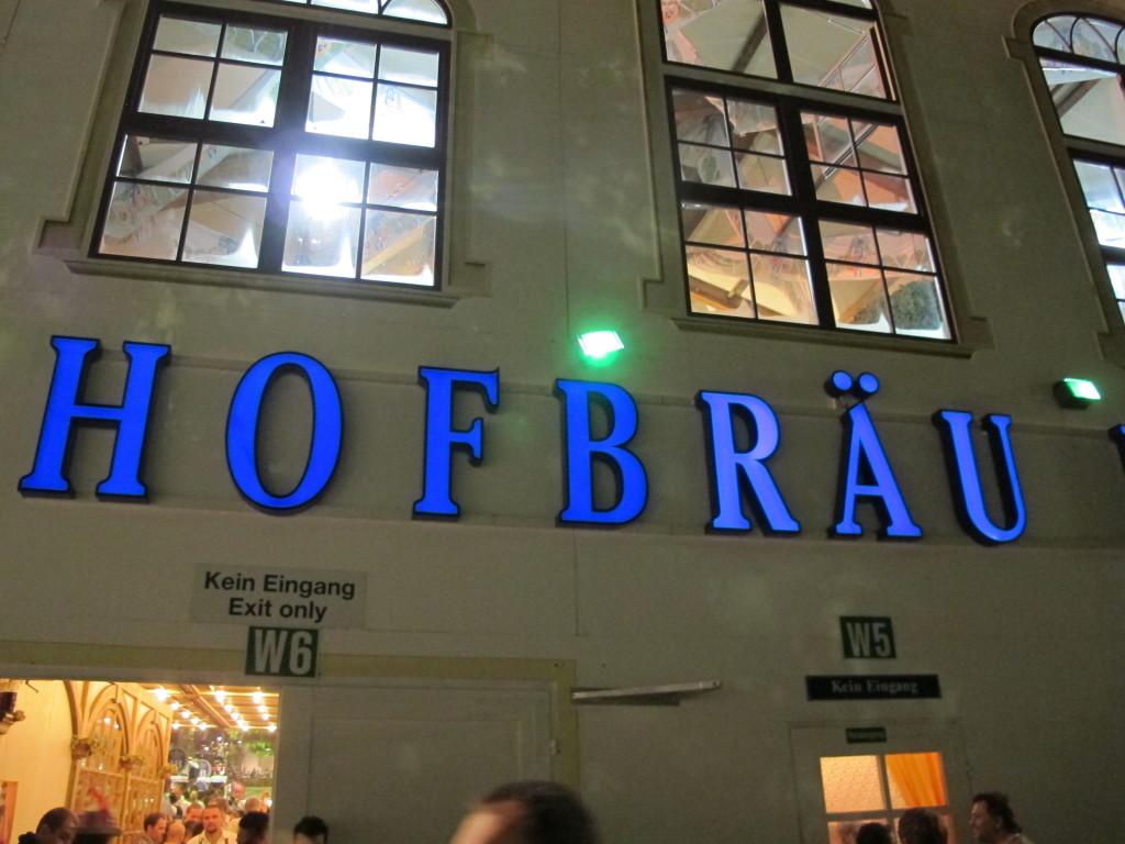 Munich = Hofbrau