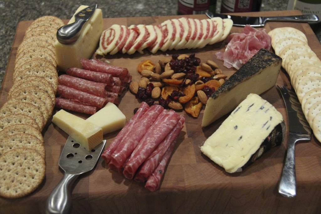 New Years Eve Charcuterie